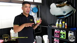 Rửa xe - Hướng dẫn chi tiết chọn mua Thiết bị, Dụng cụ, Hóa chất rửa xe