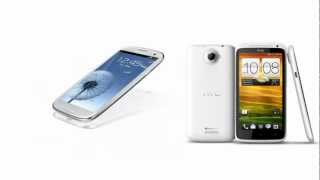 Samsung Galaxy S3 I9300 & HTC One X+, features compared