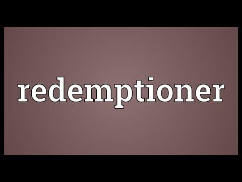 Header of redemptioner