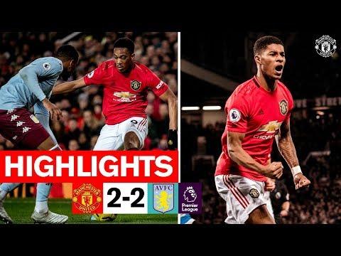 Highlights  Manchester United 2-2 Aston Villa  201920 Premier League