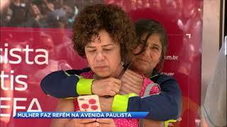 Mulher é mantida refém na Avenida Paulista