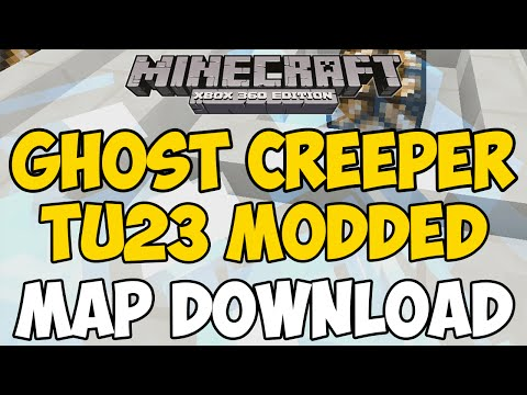 Minecraft Xbox 360/One: GHOST CREEPER MODDED Map Download (+ More Mods)