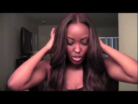 Brown Sugar Hair Co Brazilian Straight: First look/colored and layerd