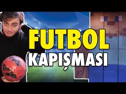 Minecraft Steve'i Topa Tuttuk - Futbol Kapışması