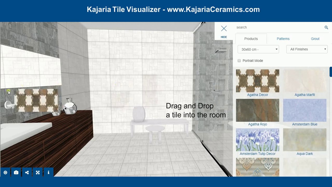 Difference between vitrified tile and ceramic tile