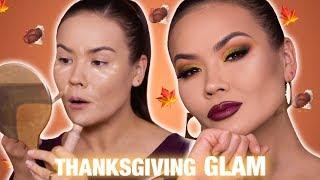 THANKSGIVING MAKEUP TUTORIAL GRWM   Maryam Maquillage