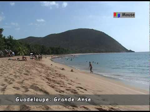 Guadeloupe: Grande Anse (travel clip)