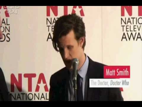 Doctor Who | Matt Smith Interview backstage at N.T.A 2012