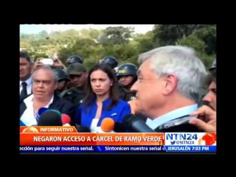 Guardia venezolana impidió que Pastrana y Piñera visitaran a Leopoldo López en la cárcel