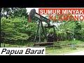 Mesin Produksi Sumur Minyak Milik Pertamina Di Klamono    Sorong Papua
