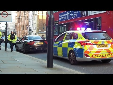 NO WAY! Maserati GranTurismo MC Stradale FINED by The Police in London For What!??