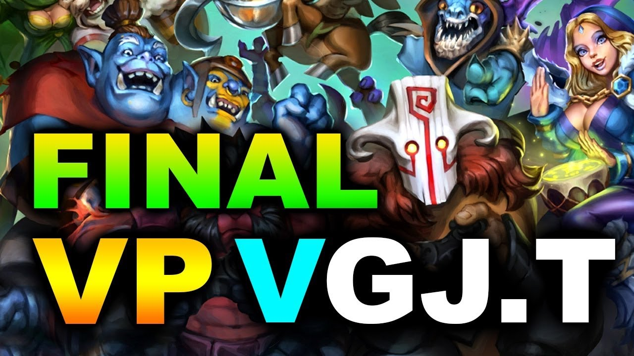 VP vs VGJ.T - GRAND FINAL - PGL BUCHAREST MAJOR DOTA 2