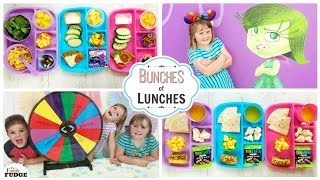 GOODBYE to Bunches of Lunches Summer 😎 MYSTERY WHEEL LUNCHES