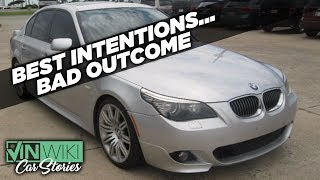 Playing hardball with a lying dealer about a stick BMW 550