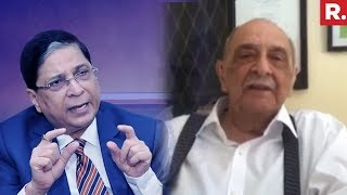 Fali Nariman Speaks On Rejection Of Impeachment Motion | Republic TV Exclusive