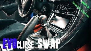 EVOclipse | Mitsubishi Evolution inside  Eclipse 2G (Part 4. interior , electrical)