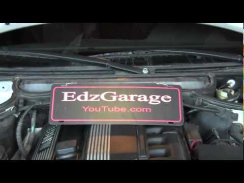 Water Pump and Thermostat Replacement e46 BMW 325i