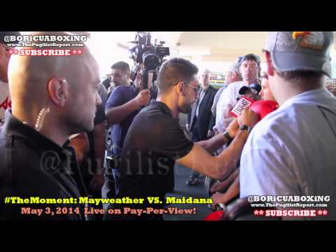 AMIR KHAN VS. LUIS COLLAZO Face-Off & Grand Arrivals at the MGM Grand *Raw Footage*