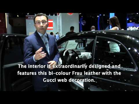 Fiat @ Frankfurt Motor Show 2011: discovering Fiat 500C by Gucci with Giorgio Neri