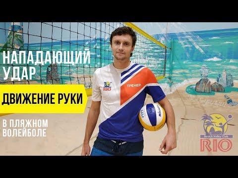 Нападающий удар в пляжном волейболе. Уроки волейбола нападающий удар. Обучение технике