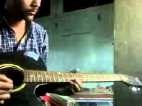 Kal ho na ho song on guitar (single string)