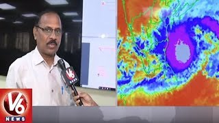 IMD Officer Raja Rao Face To Face Over Cyclone Phethai | Hyderabad