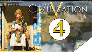 Sid Meiers Civilization V - Ramsees of Egypt | The Renaissance Comes | Ep#4