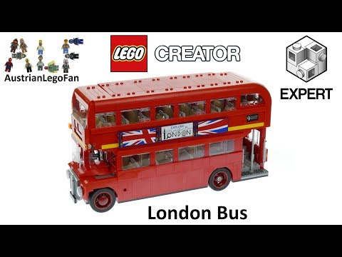 lego creator 10258 london bus lego speed build review. Black Bedroom Furniture Sets. Home Design Ideas