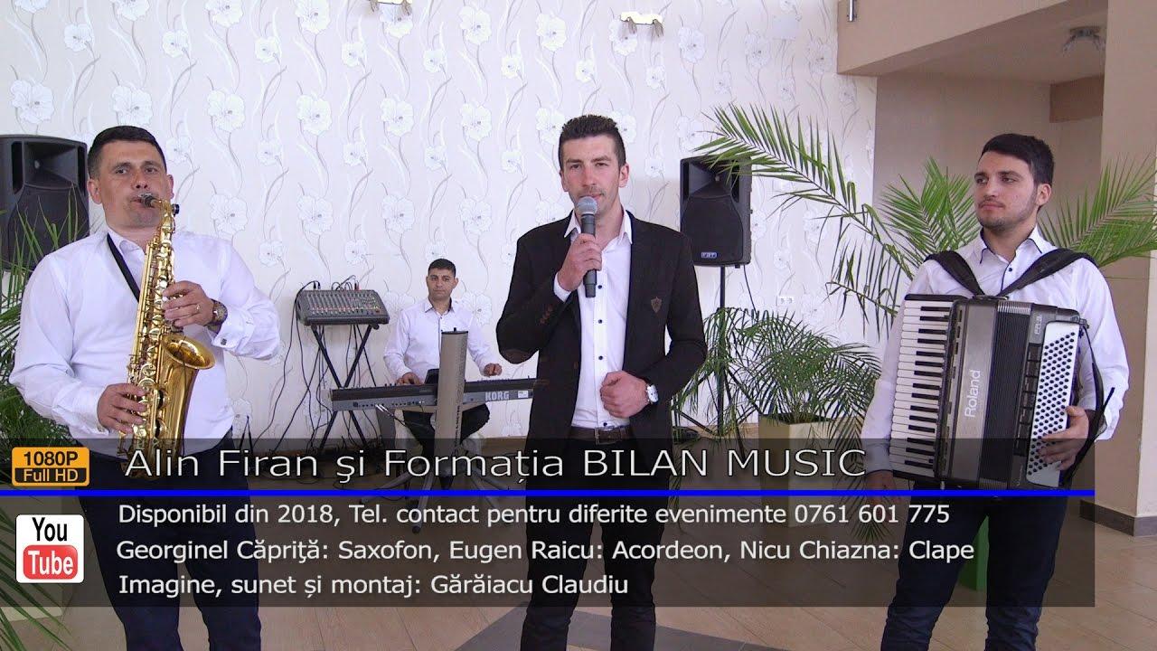 Alin Firan si Formatia BILAN MUSIC   Colaj SARBA LIVE 2017   Contact 0761 601 775