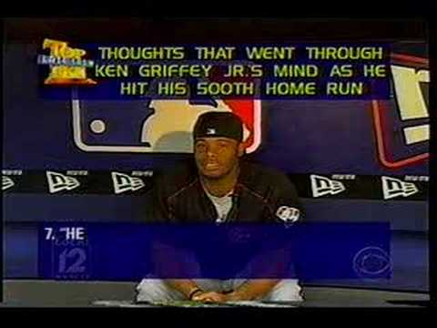 David Letterman Top 10 Ken Griffey Jr.
