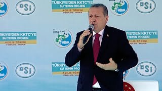 Erdoğan: Saray'a Kuzu Kuzu Geleceksiniz