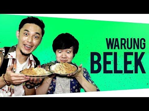 GENKI & DAISUKE MAKAN DI WARUNG BELEK | Food Undercover  #1
