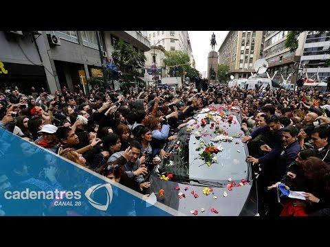 Último adiós a Gustavo Cerati / Funeral del vocalista de Soda Stereo