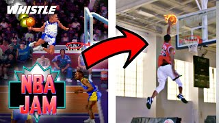 NBA JAM IN REAL LIFE!?