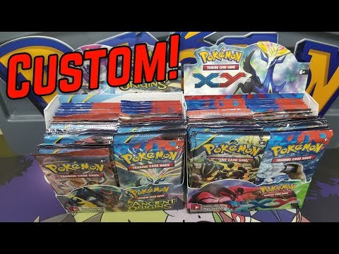 Pokemon Custom Booster Box Battle!