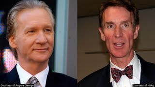 Bill Nye & Bill Maher Blast Creationists!