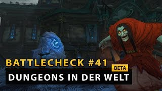 WoW Battlecheck - Die Dungeons in der Spielwelt | Battle for Azeroth