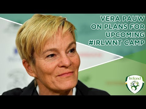 #IRLWNT INTERVIEW | Vera Pauw on plans for upcoming IRLWNT camp