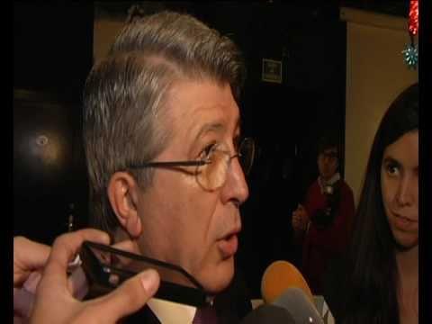 Enrique Cerezo, un presidente de película
