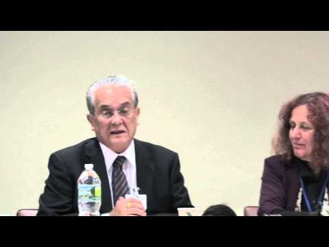 Tony de Brum Explains Marshall Islands Lawsuits