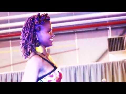 NAT'TYCHAA DANSEUSE MALGACHE AU FESTICOULEURS 2013 PAR NOUGAY TV