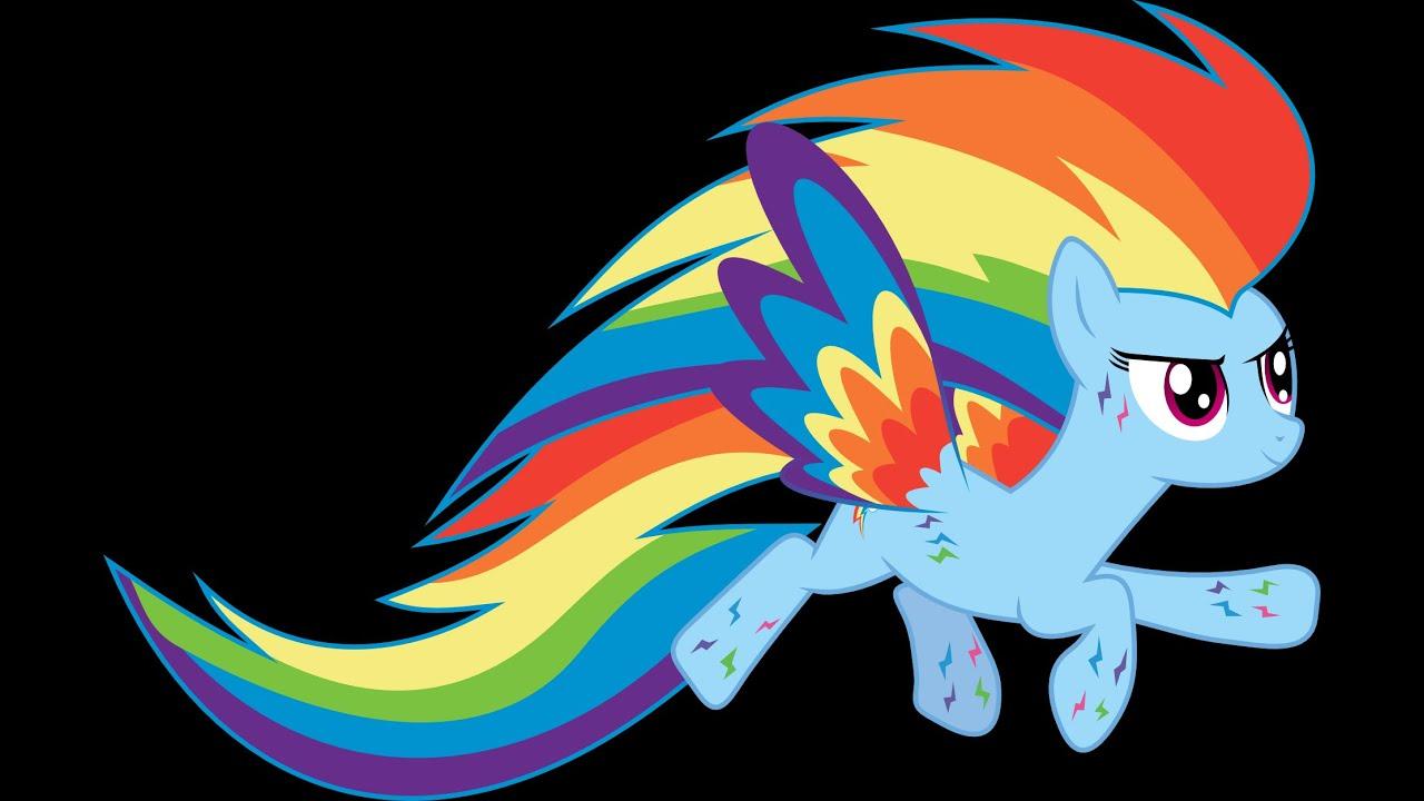Радужные пони картинка