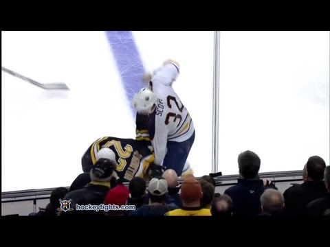 John Scott vs Shawn Thornton Jan 31, 2013