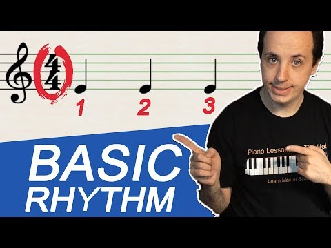 Your First Lesson in Rhythm for Beginners:  Beats, Time Signatures, Tempo