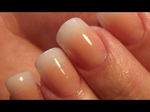 Natural Acrylic Nails * DivaDC Natural Powder *