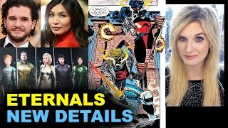 Eternals 2020 - Kit Harington & Gemma Chan - Sersi & Black Knight