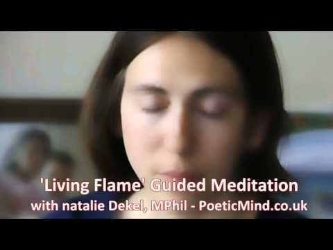 'living Flame' Guided Meditation   Natalie Dekel.