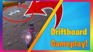New DRIFTBOARD Gameplay in Fortnite! - New Fortnite Update! (Fortnite Battle Royale LIVE)