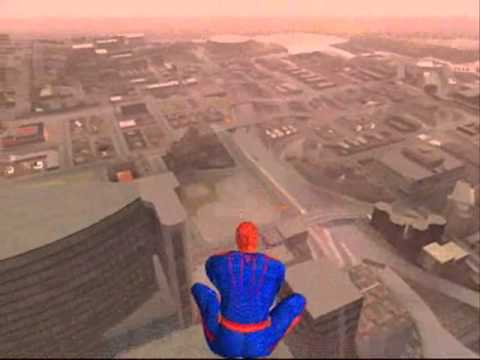 Crouch as the amazing Spider-man