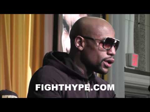 FLOYD MAYWEATHER DISCUSSES PERFORMANCE IN MAIDANA REMATCH I WAS BETTER IN THE FIRST FIGHT